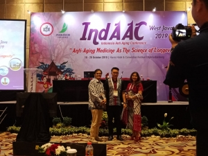 "indAAC 18 - 20 Oktober ""Anti Aging Medicine As The Science of Longevity"""